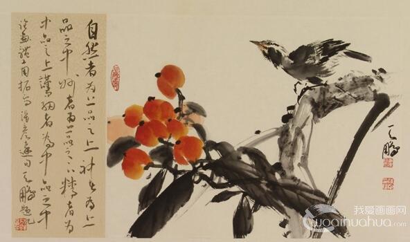 写意花鸟画的14种用水法