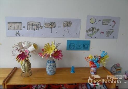 幼儿园小班创意美工区材料投放策略图片