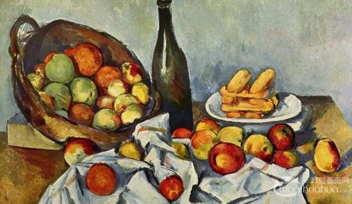 《静物曼陀林》,1885,法国,高更,布面油画,64cm*53cm,法国巴黎奥赛美术馆 高更并不是第一个画此乐器的人,在19世纪时的浪漫主义画家已有人画过。《静物曼陀林》画中除了曼陀林外又加上了中国的瓷盆及日本的牡丹花。这种他国产物的使用题材,使得这幅画掺杂了各国