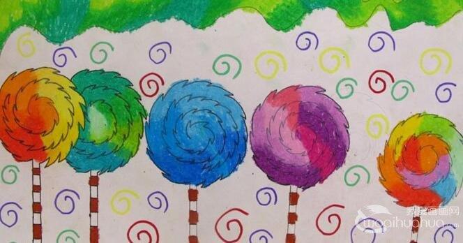 2014孤残儿童慈善画展 孩子也能传递正能量