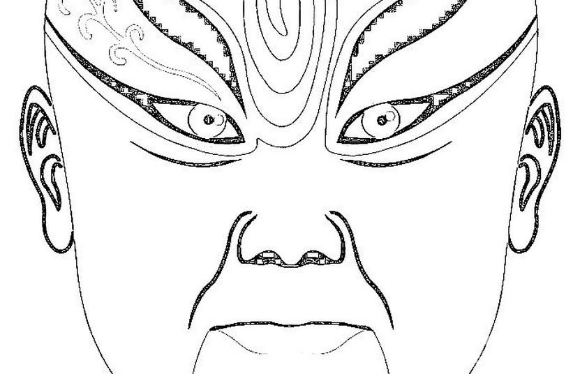 喜字剪纸图案大全:双喜鸳鸯喜鹊凤凰花纹剪纸图案(3)