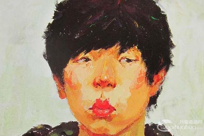 半身人物写生:清华大学美术学院2010年优秀人物色彩试卷