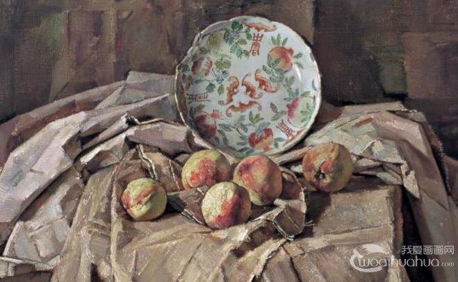 忻东旺蔬菜,水果等油画静物欣赏 兼论写实油画