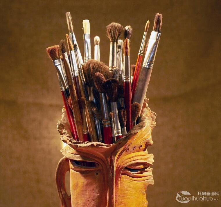 水彩画笔的分类 水彩画笔知识全面介绍
