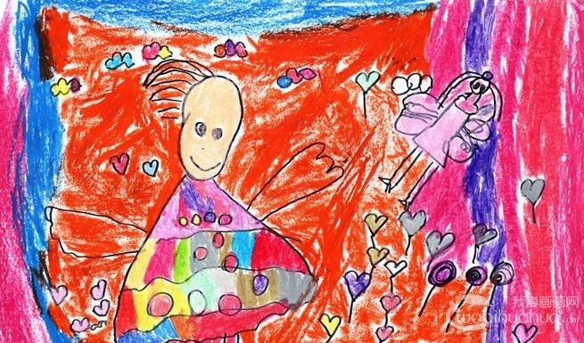 蜡笔梦想画:快乐的梦--金鹰杯儿童画大赛参赛作品