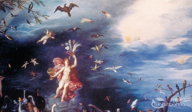 油画艺术欣赏中笔触的历史由来和变化
