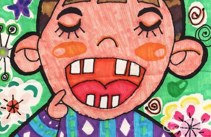 -金鹰杯儿童画大赛参赛作品-水彩画人物 我爱画画网图片