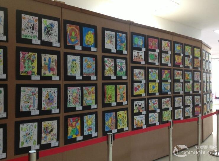 """""""我的梦 外滩梦""""儿童画展览在上海市黄浦区举办"""
