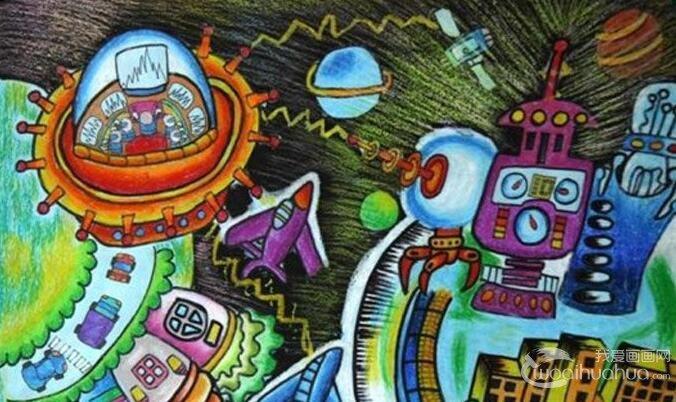 14副国家科技创新大赛科幻画获奖作品图片欣赏及专家点评