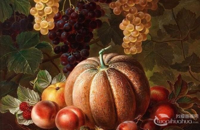 花卉油画:24副高精细写实油画花卉静物作品欣赏