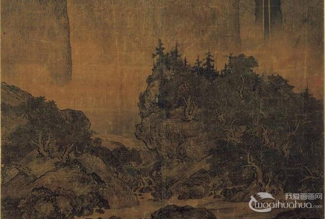 中国画云水瀑布的画法和发展:隋唐起源到北宋山水画