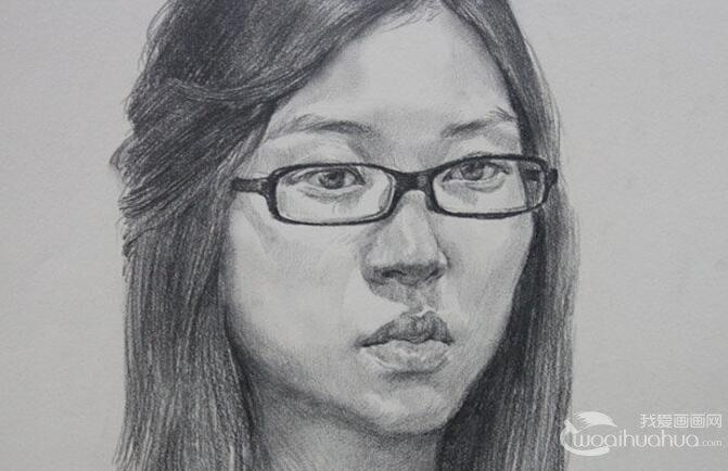北京朱传奇画室一组人物素描作品欣赏