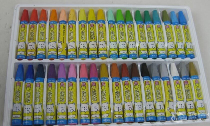 儿童学习油画棒绘画技法介绍