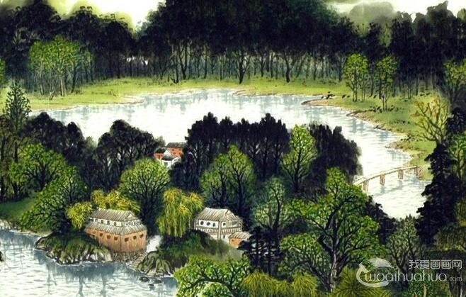 青绿山水及青绿山水画代表人物和作品