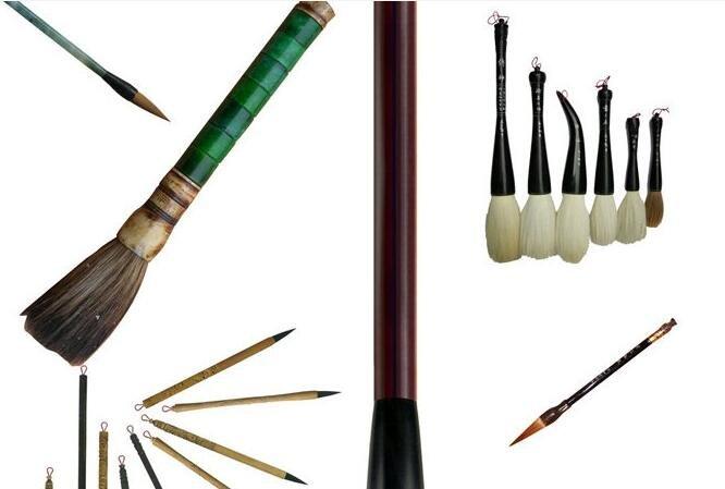 中国画选择毛笔和保护毛笔的方法