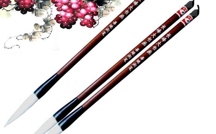 国画画笔介绍:中国画用什么样的笔
