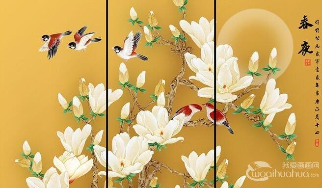 中国画的分类与中国画的画幅表现形式