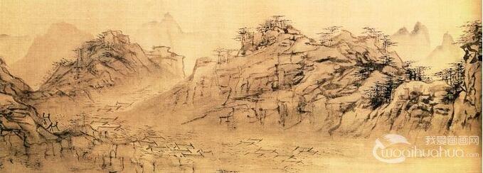 中国画在技法形式上的特点是什么