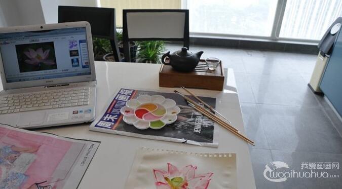 爱上了水彩画,从零开始学习画画开始的历程