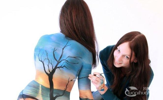 人体油画作品:超现实主义人体彩绘油画作品欣赏