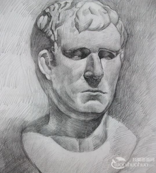 石膏像写生绘画初学者必须要避免的五大问题