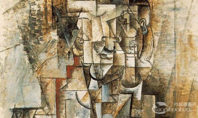 毕加索《卡思维勒像》抽象人物画赏析