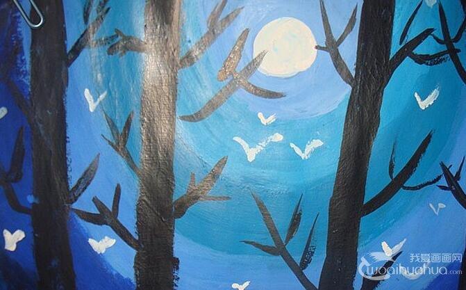 少年儿童水粉画:儿童风景水粉画欣赏(5P)