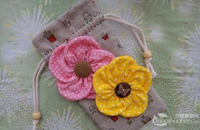 DIY布艺教程:手工制作梅花手袋的全过程