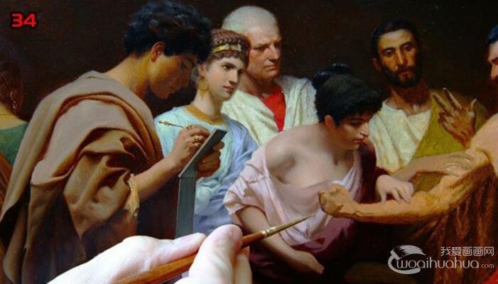 欧洲人物油画教程:高手画油画的全过程