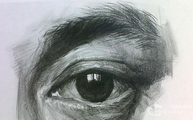 素描头像_素描头像步骤与素描石膏头像_素描头像教学