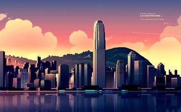 法国插图师Romain Trystram炫彩城市插画作品欣赏