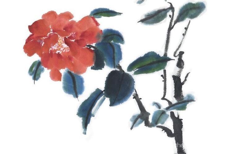 国画松树的画法:松柏松树水墨画图片大全69p之水墨