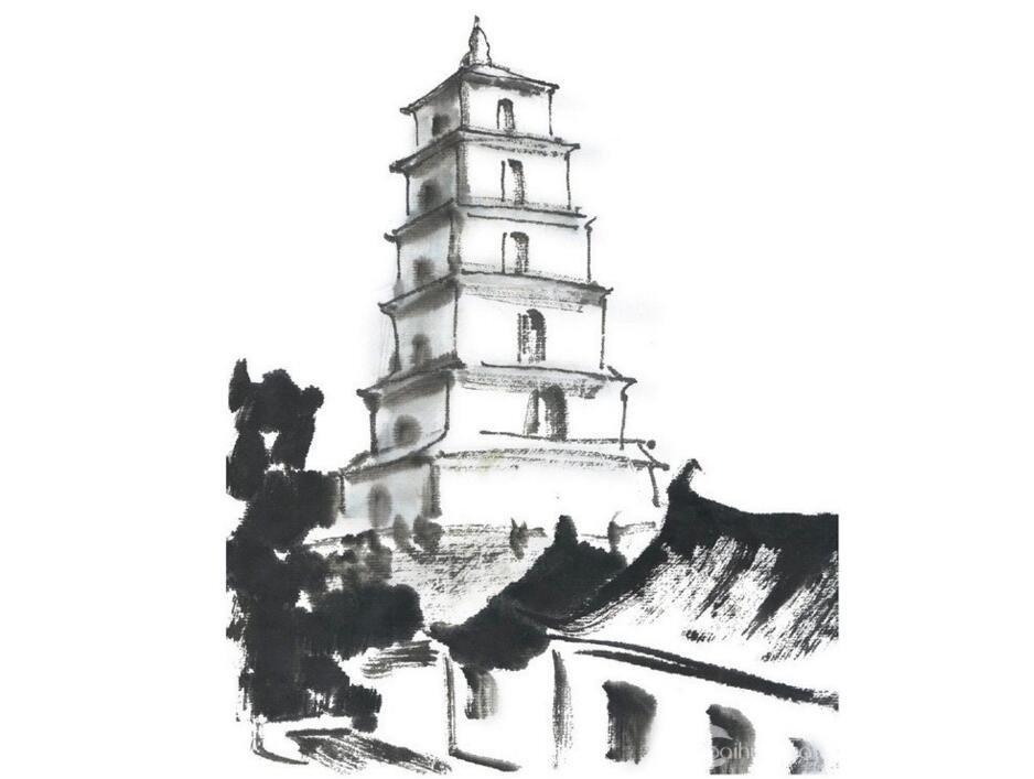 中国画电脑_学视频入门教程_视频教程国画大教程倒着国画图片