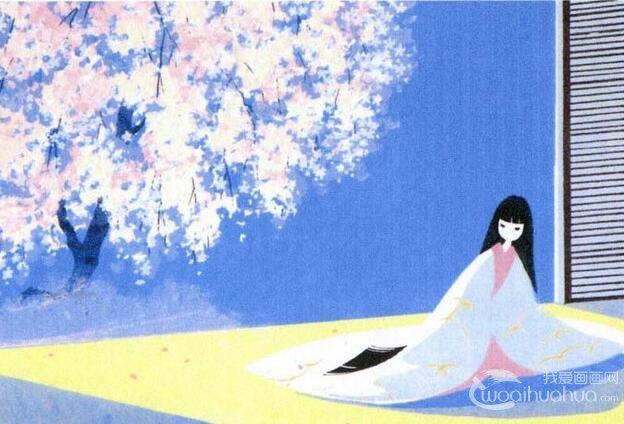 日本女画家见代博子老师的装饰画作品赏析