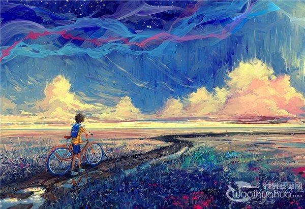 俄罗斯设计师Hangmoon绘画作品欣赏