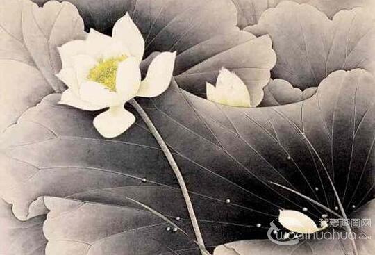 李长白国画作品欣赏