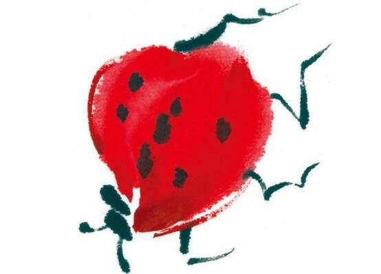 水墨七星瓢虫的绘画技法