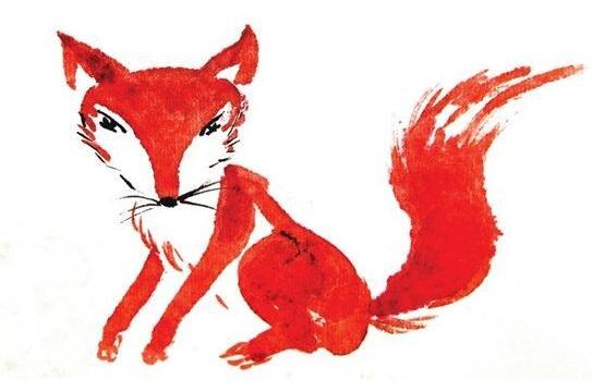 国画狐狸的绘画步骤