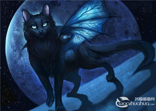 Jade Mere神秘梦幻的野兽插画作品欣赏