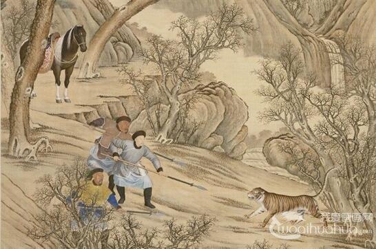 北京故宫藏郎世宁乾隆皇帝巡狩题材系列作品赏析