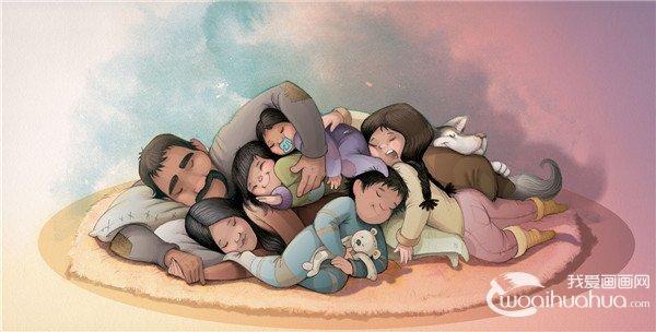 西班牙自由插画师Alicia Borges儿童卡通插画作品欣赏