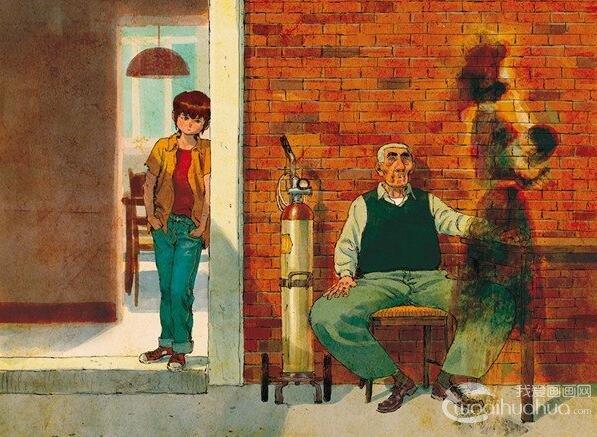 澳大利亚漫画艺术家插画师Thomas Campi插画作品欣赏