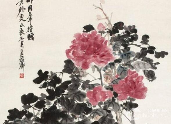 中国国画家吴昌硕作品赏析