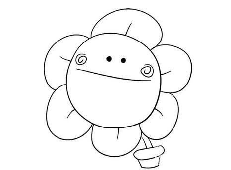 趣味简笔画太阳花