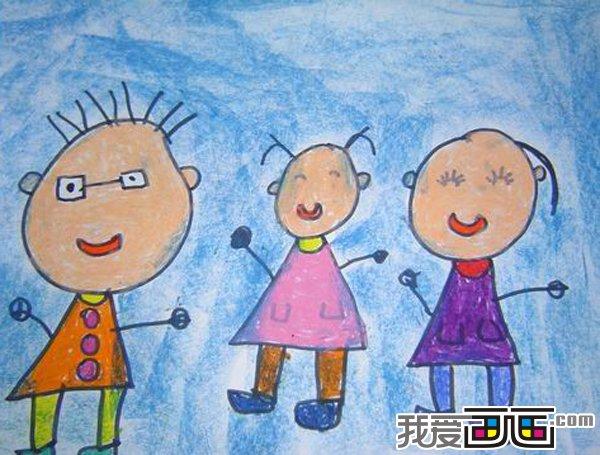 幼儿绘画作品 八