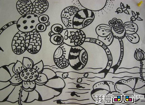 3~6岁幼儿绘画作品欣赏一