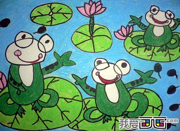 3 6岁幼儿绘画作品欣赏二