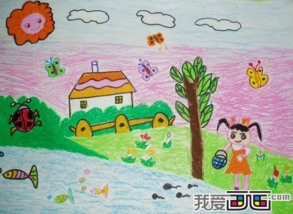 3~6岁幼儿绘画作品欣赏二图片