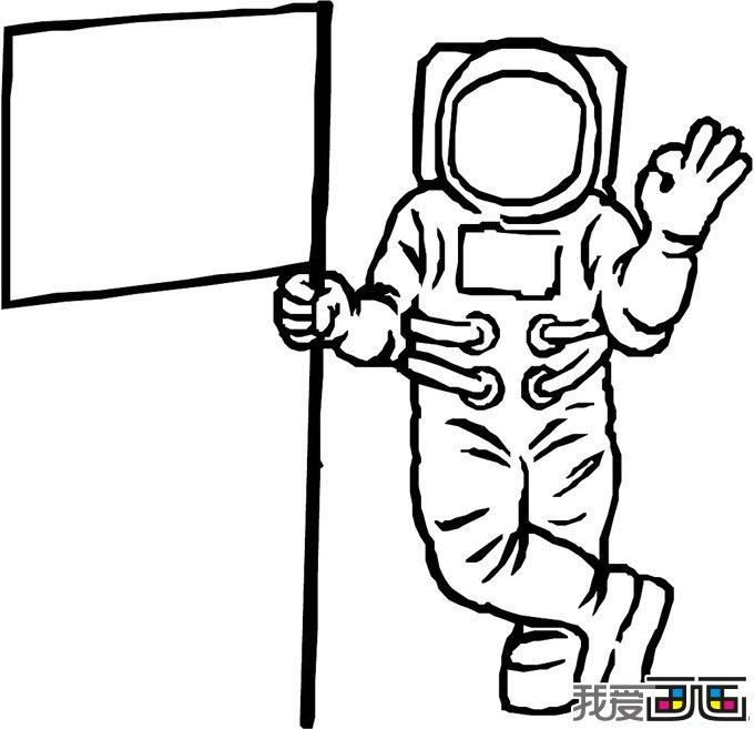 10副人物简笔画欣赏(6)_儿童画教程_学画画_我爱画画网