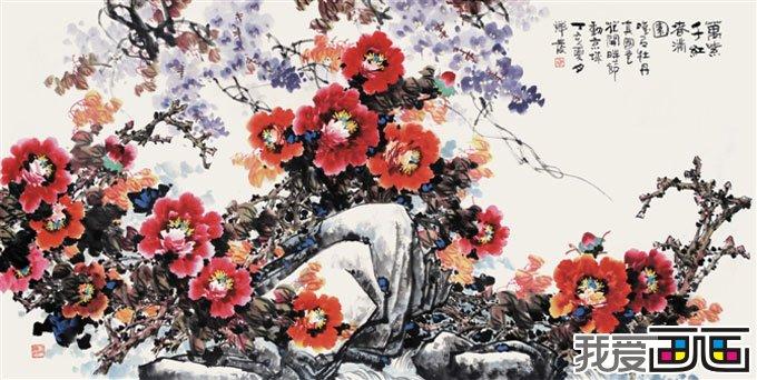 中国画牡丹画组图,写意牡丹画图片(4)图片